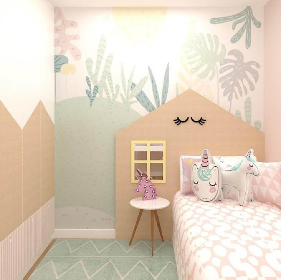 decoração lúdica para quarto do unicórnio Foto Aline Plácido e Maria Velame