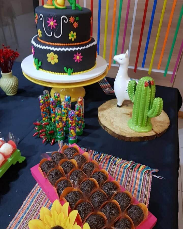 decoration table Mexican party Photo Pinterest