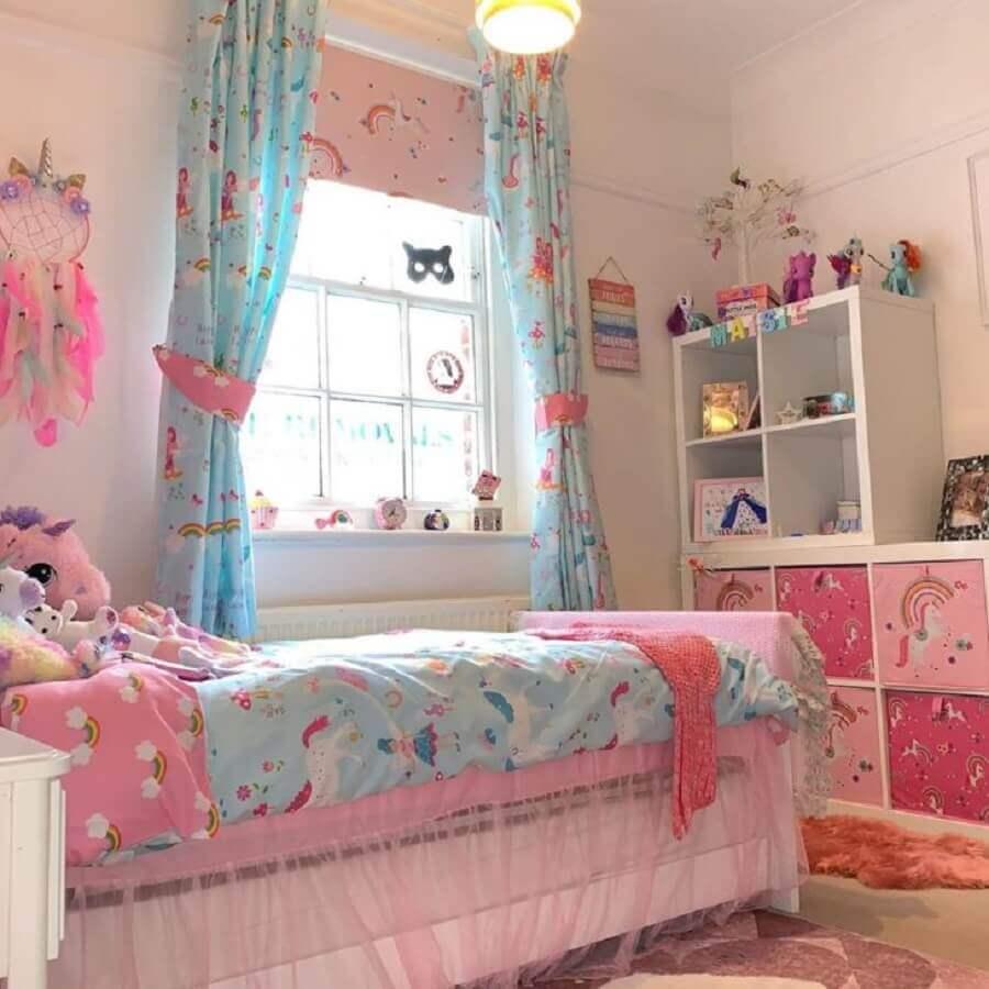 decoraçao quarto de menina unicórnio Foto Pinterest