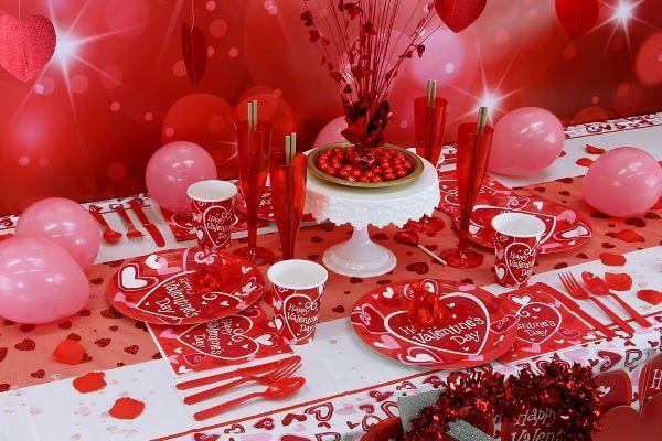 Decoração romântica para casais apaixonados