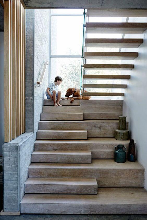 Otimize espaço com a escada vazada
