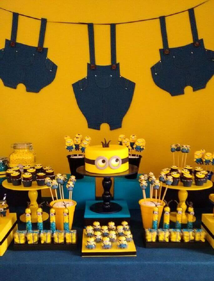 minions party as a messenger theme Photo Constance Zahn