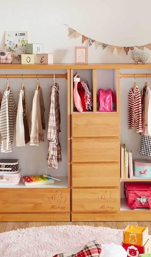 Guarda roupa infantil modulado
