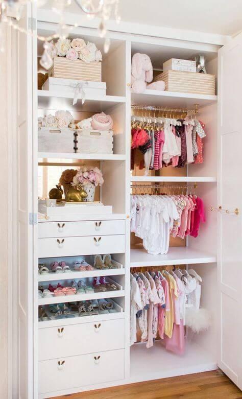 Guarda roupa infantil 2 portas