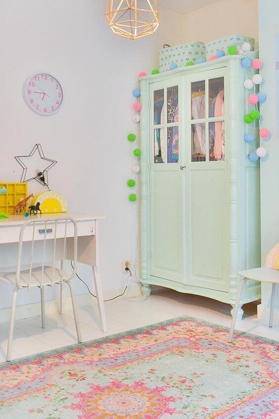 Guarda roupa infantil 2 portas pequeno