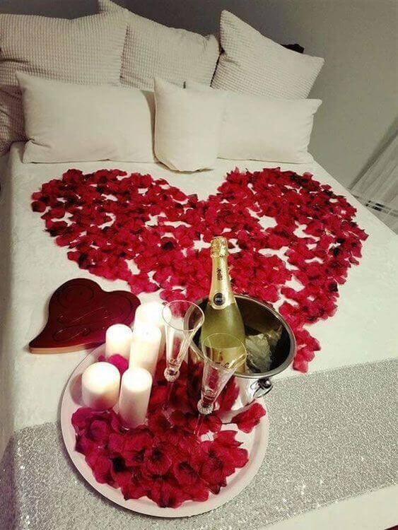 Ideias para dia dos namorados em casa