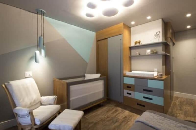 móveis para quarto de bebê planejado simples Foto Alto Astral