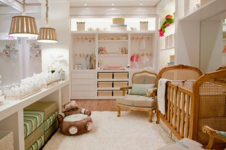 móveis planejados para quarto de bebê Foto Decorando Casas