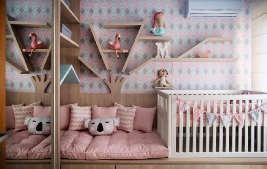 móveis planejados para quarto de bebê Foto Pinterest