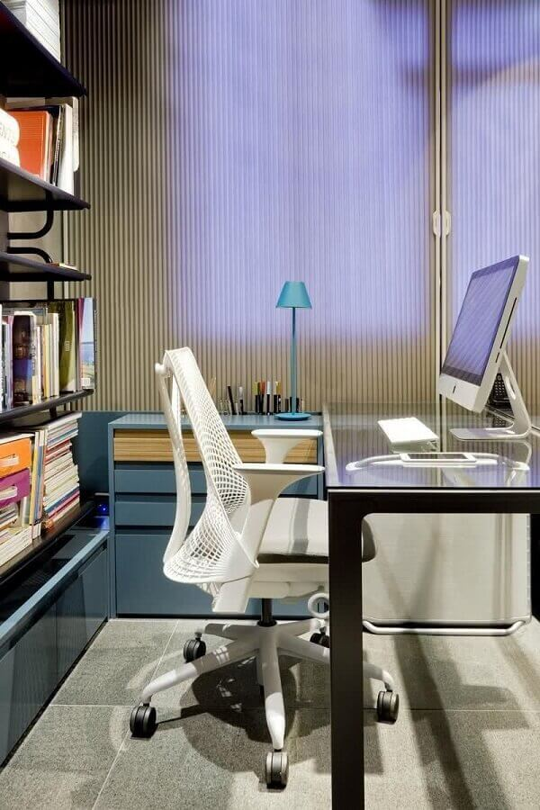 modelo de cadeira de escritório reclinável moderna Foto Architizer