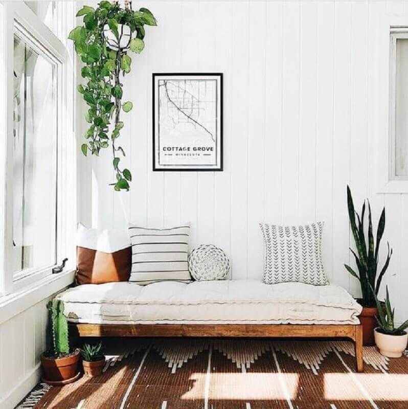 plantas pendentes para decoração de casa simples Foto Pinterest
