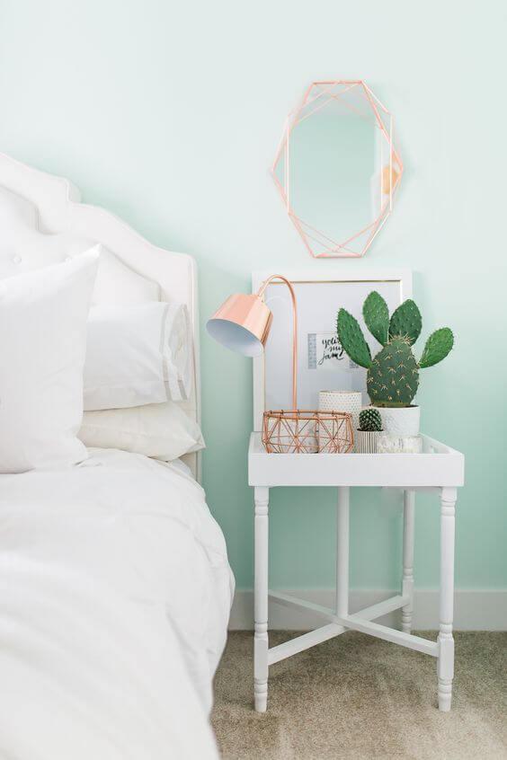 Plantas pequenas para quarto moderno