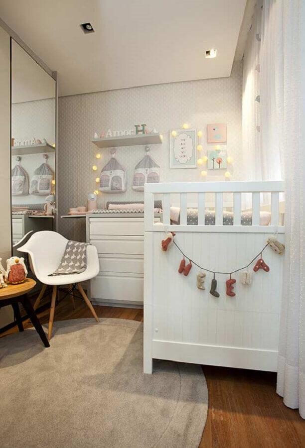 quarto de bebê planejado para apartamento pequeno Foto Casar É...
