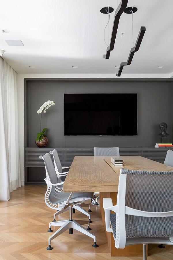 sala de reunião decorada com cadeira de escritório ergonômica moderna Foto Architecture Art Designs