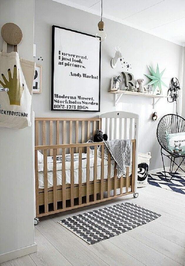 tapete de crochê para quarto de bebê moderno Foto Just Real Moms