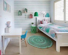 tapete de crochê para quarto infantil simples  Foto Houzz
