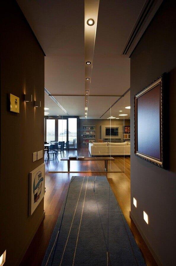 tapete passadeira para decoração de corredor Foto Pinterest
