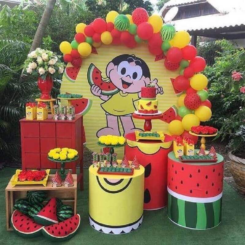 magali party mesverary themes Foto Pinterest