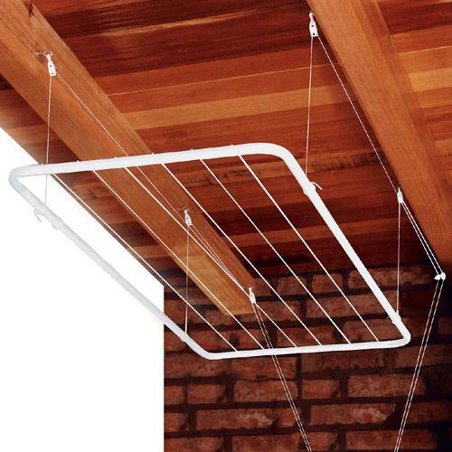 Aprenda como instalar varal de teto simples