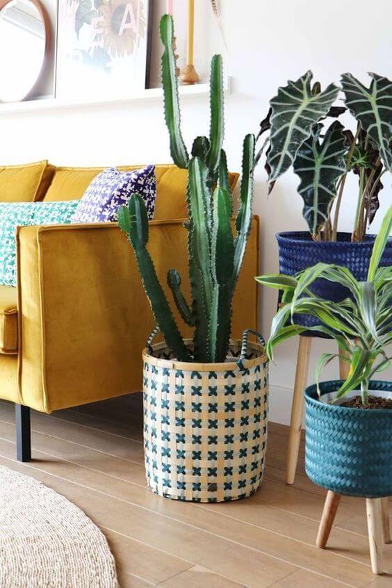 Vaso grande decorativo personalizado