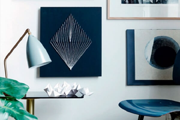 Imagens abstratas podem ser criadas a partir da string art