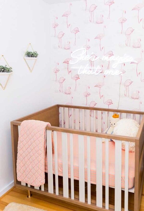Modelo de luminária neon personalizada para quarto infantil