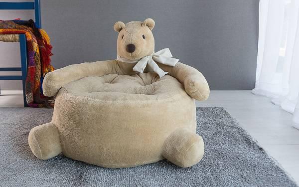 Puffs grandes para quarto infantil