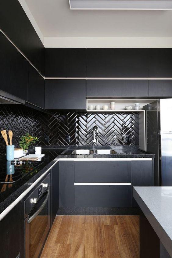 Cozinha planejada de canto