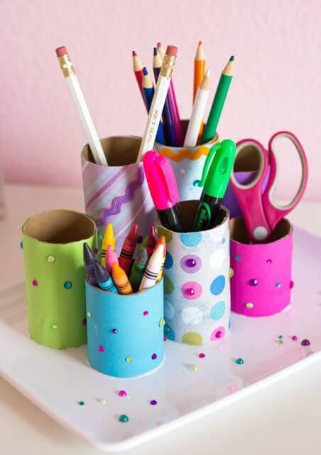 Artesanatos fáceis e úteis para o dia a dia