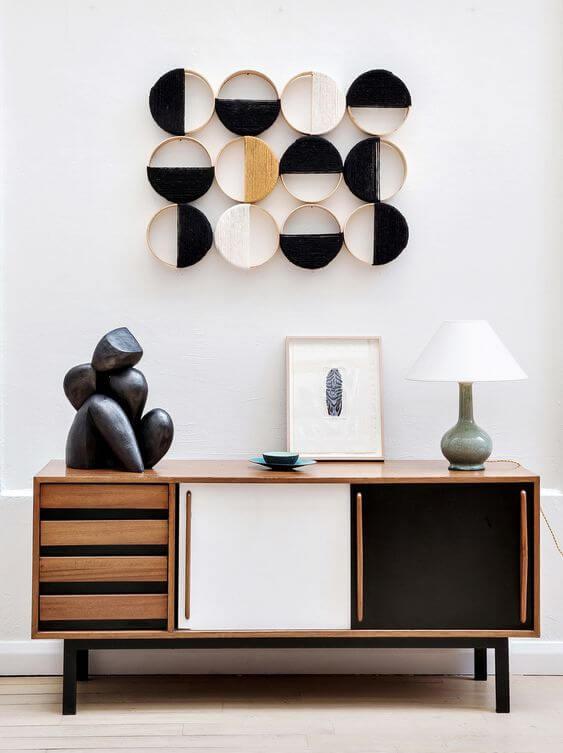Artesanatos fáceis com móveis combinando