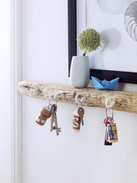 Artesanatos fáceis de madeira