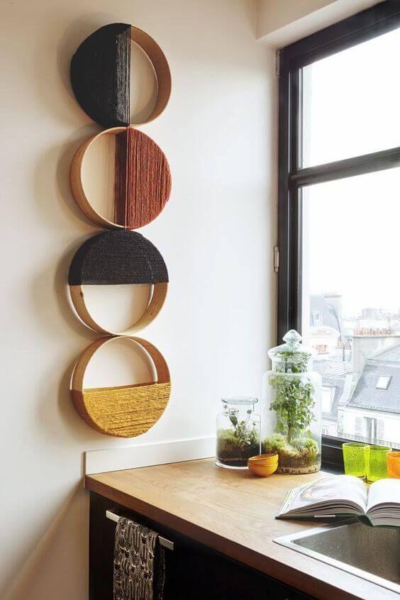 Decore sua casa com artesanatos fáceis