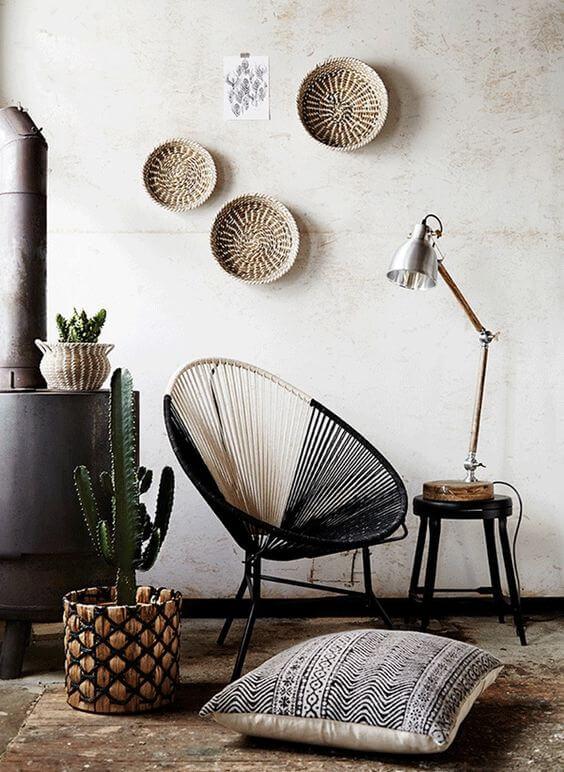 Use a cadeira acapulco para a casa ficar confortável