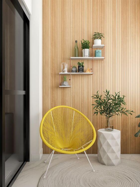 Use cadeiras acapulco para ter um ambiente aconchegante