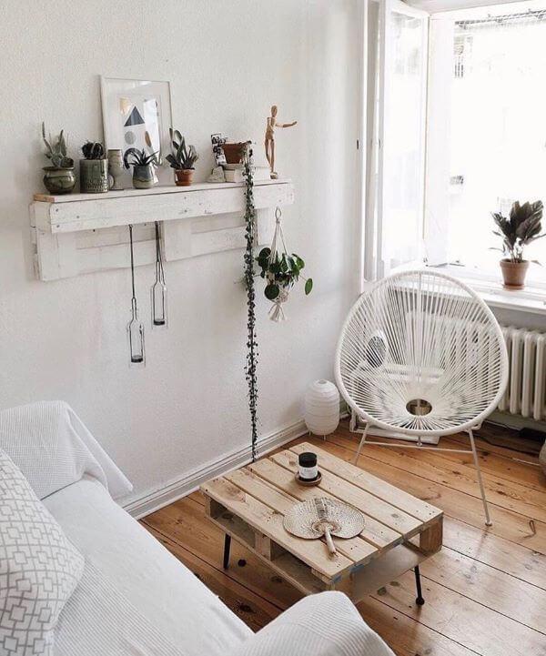 Cadeira acapulco branca