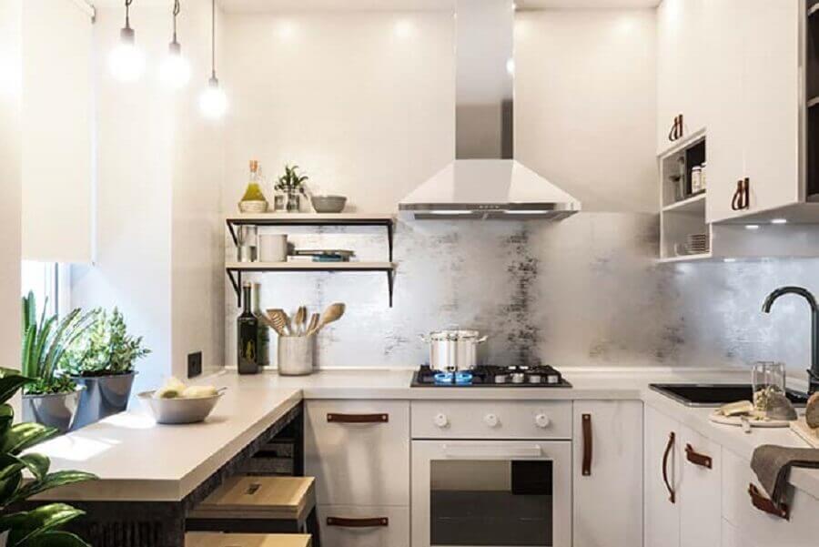 cozinha pequena em U Foto Pinterest