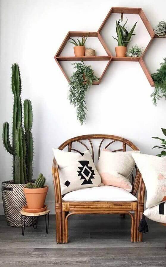 decoração com plantas Foto Pinterest