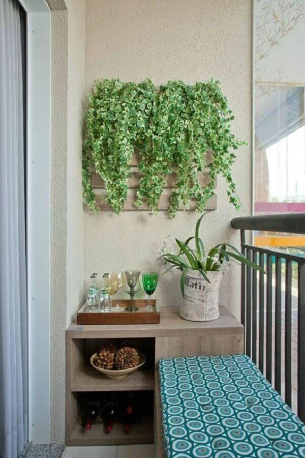 decoração com plantas na parede para varanda pequena Foto Blog Gosto Disto