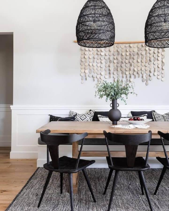 design moderno de vaso para mesa de jantar simples Foto Serena & Lily