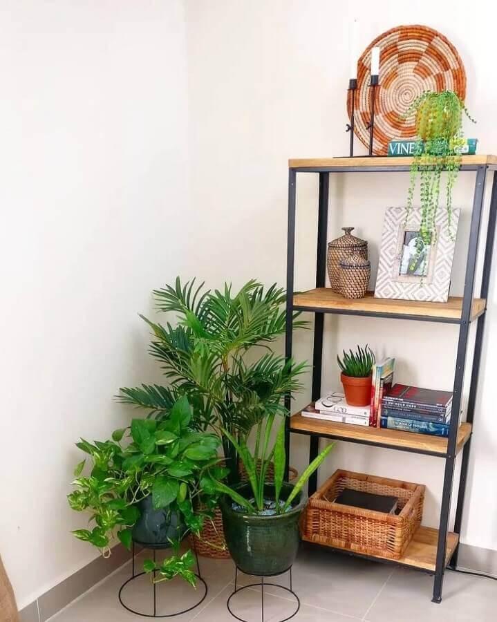 estante industrial pequena e simples Foto Pinterest