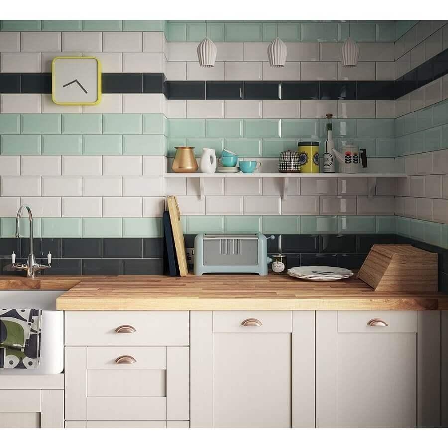 faixa decorativa para cozinha Foto Archilovers