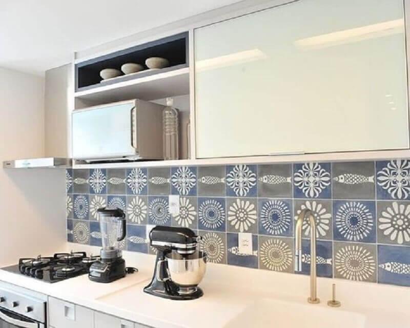 faixa decorativa para cozinha Foto Pinterest