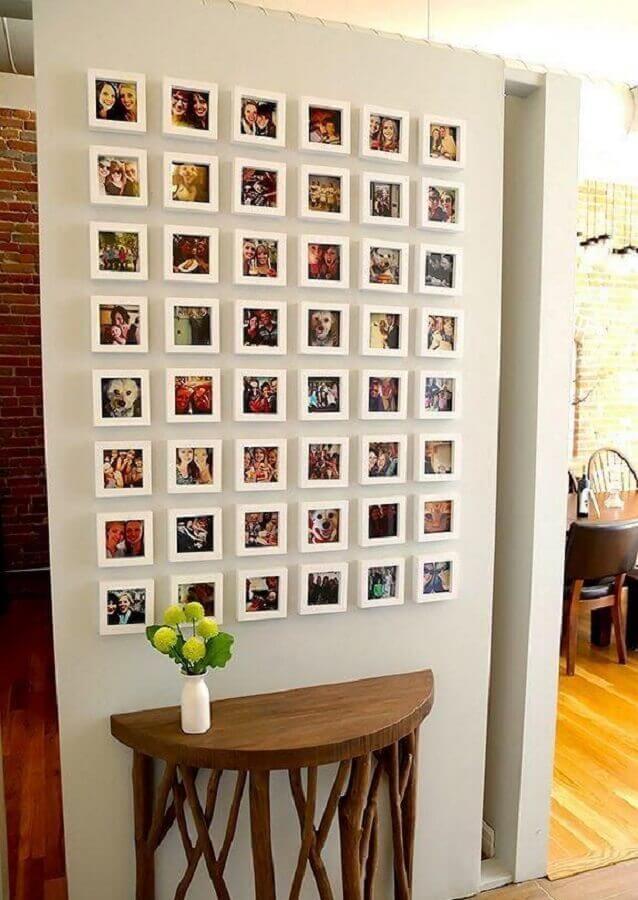 ideia de parede com quadros de fotografia Foto ArchZine