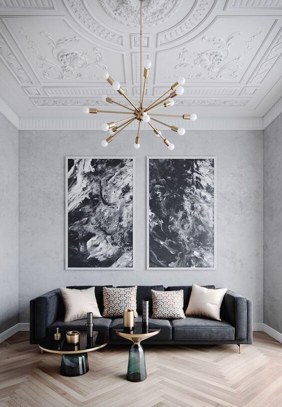 Lustres para sala modernos são ótimos para decorar o ambiente