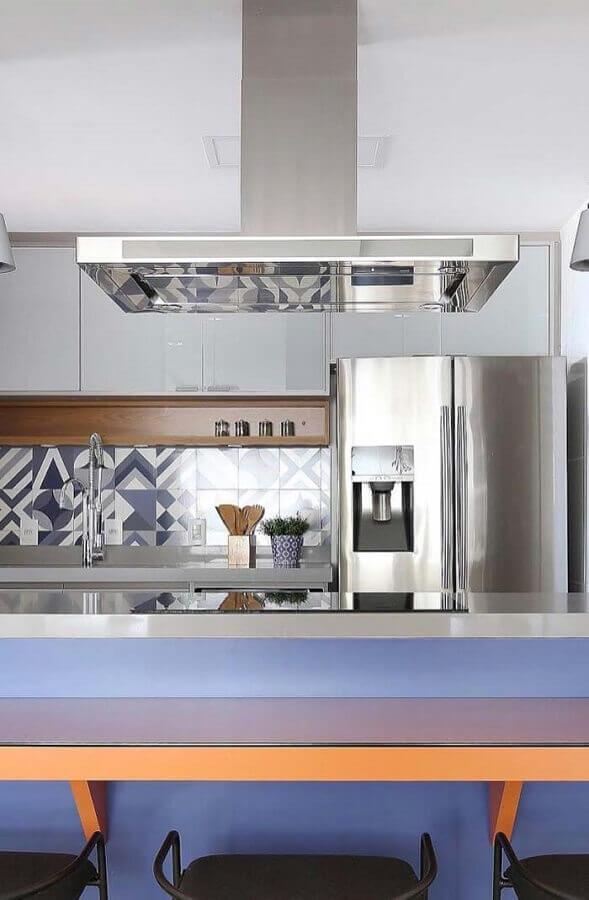 modelo de faixa para cozinha moderna Foto Home Fashion Trend