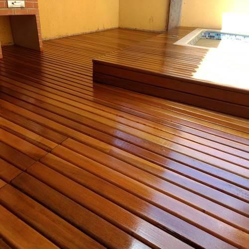 Tipos de madeira aroeira no deck