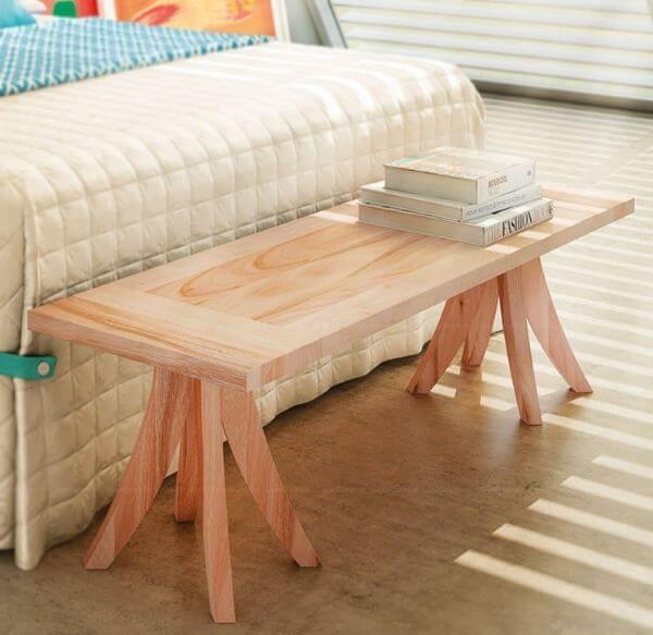 Tipos de madeira eucalipto para beira de cama