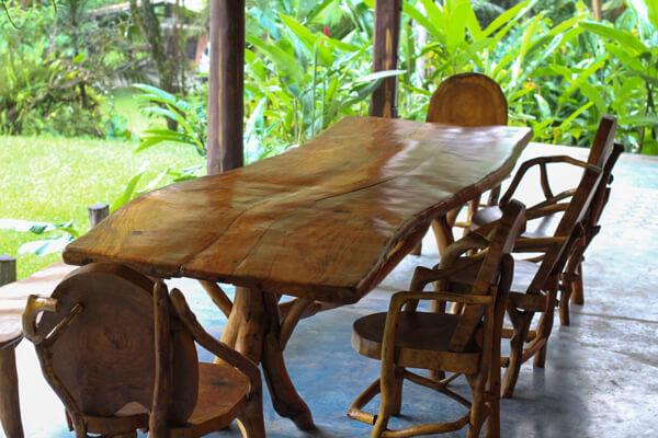 Tipos de madeira garapeira para mesa