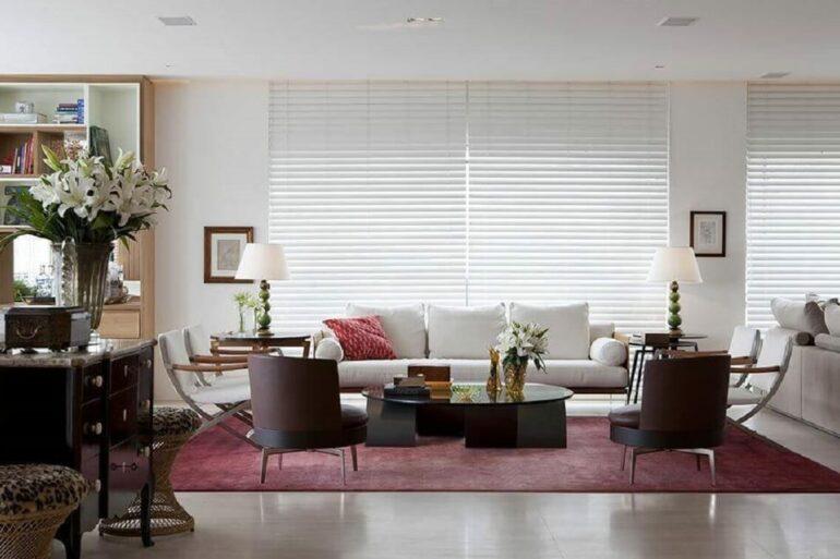Dicas para acertar na escolha das persianas para sala