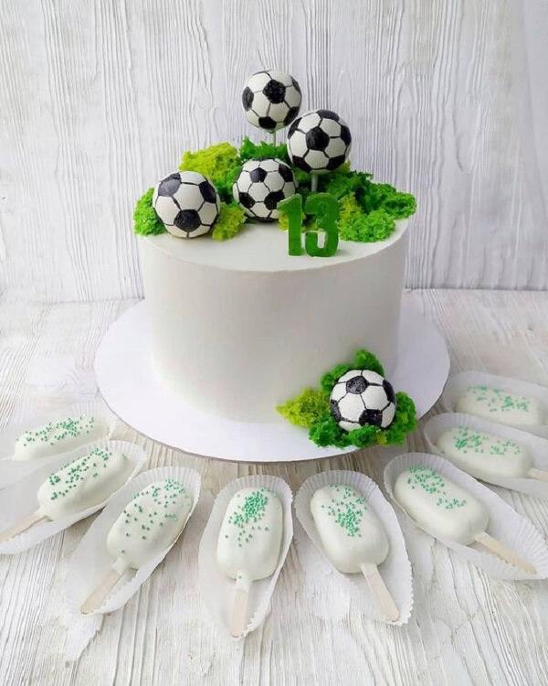 Festa tema futebol ideias para bolo